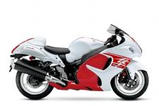 The Suzuki Hayabusa is quite simply the Ultimate Sportbike. Twist the throttle on this iconic motorcycle and it reacts with awesome acceleration and crisp throttle response in every gear with an unbelievable top-end charge. Thanks to a lightweight and rigid twin-spar aluminum frame and state-of-the-art suspension, that performance is matched by equally impressive handling, providing exceptional control in tight corners, reassuring stability in sweeping turns and a smooth ride on the highway. The sleek, aerodynamic body work functions as it appears so the Hayabusa slips through the wind like a Peregrine Falcon.