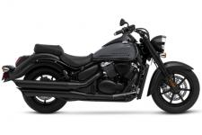 Performance never looked so good, or so dark. The Suzuki Boulevard C90 B.O.S.S. rewards you with a striking combination of blacked-out styling and heart-pounding performance, thanks to its 90-cubic-inch, fuel-injected V-twin engine. Along with the aggressive Blacked Out Special Suzuki (B.O.S.S.) styling and stunning performance, this bike features a spacious riding position and large floorboards for comfortable cruising, matched by precise agile handling provided by its rigid chassis and advanced suspension.