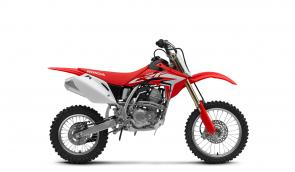 The CRF150R is designed to put your Red Rider up front and into the winners circle. Its not an off-road bike with a low seat height; its a serious competition machine tailor-made for young racers. Designed around a single-cylinder Honda Unicam engine, it offers all the performance your riders need to win. Put them on the wrong bike, and theyll get frustrated. Let them taste the champagne (or maybe the sparkling apple juice), and theyll learn to apply themselves on the track and later in life.
