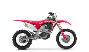 Introducing the all-new Honda CRF250RX, a high-performance trail/enduro machine built to exploit all the advantages a 250 has to offer. Bigger Baja bikes may get all the attention, but 250 riders know where their bikes really shine: on tight, technical trails that leave those big open-class riders panting and exhausted, while they use the light weight and maneuverability to flick through challenging terrain. So we've equipped the new CRF250RX with the same great engine and chassis as the CRF250R motocrosser, but added an 18-inch rear wheel, a bigger fuel tank, special suspension settings, a sidestand, and more. It's all about giving you the best bike in the class.