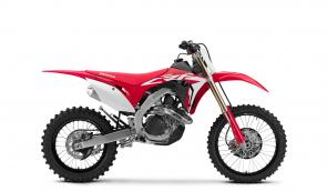 It rocks all the features and upgrades of our latest CRF450R, but has some special touches that fine-tune it for enduro use. Like a bigger fuel tank. A sidestand. An 18-inch rear wheel. And special suspension settings. Along with the CRF450R, it gets an all-new chassis and swingarm, new fuel-injection settings that spray twice per cycle to better atomize the fuel, a special launch-control setting, new Renthal Fatbar and all the rest. We've never built an enduro bike this race-ready. And neither has anyone else.