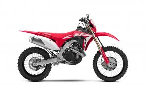 Honda's CRF450X has long been the choice of Baja champions and woods pros—and riders who want the light weight and awesome power of a premium MX bike, but who also know that while MX machines are perfect for 30-minute motos, out in the big, bad, open-class real world you need a machine that can do more. That all-around excellent performance is what's made the CRF450X always stand out, whether it's in the winner's circle in La Paz or out on your local trails. And for 2019, the CRF450X has been completely overhauled from the ground up—with lots of new upgrades, including an all-new aluminum frame and . . . wait for it . . . a six-speed transmission!