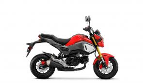 Does that thing look like fun or what? Turn the shortest trips into the most epic adventures and save a bunch on gas with a new Honda Grom.