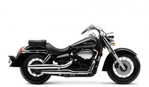 Some classics never go out of style. Like your favorite leather jacket, or blue jeans. Or, if we're talking about cruisers, a bike like the 2020 Honda Shadow Aero. Talk about timeless—for thousands of riders, the Aero just looks the way a motorcycle should. Sure, part of that is due to the chrome highlights, the V-twin engine and the swept-back twin exhaust. And thanks to the low-slung seat, pullback handlebar, and forward-set pegs, the Aero is also extraordinarily comfortable to ride, too. Why not see for yourself? Want to combine classic looks with modern engineering? The Aero is also available with optional anti-lock brakes.