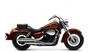 Some classics never go out of style. Like your favorite leather jacket, or blue jeans. Or, if we�re talking about cruisers, a bike like the 2020 Honda Shadow Aero. Talk about timeless�for thousands of riders, the Aero just looks the way a motorcycle should. Sure, part of that is due to the chrome highlights, the V-twin engine and the swept-back twin exhaust. And thanks to the low-slung seat, pullback handlebar, and forward-set pegs, the Aero is also extraordinarily comfortable to ride, too. Why not see for yourself? Want to combine classic looks with modern engineering? The Aero is also available with optional anti-lock brakes.