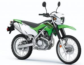 Purpose-built for serious fun on the trails and tuned for on-road versatility, KLX 230 dual-sport motorcycles keep going when the road ends.