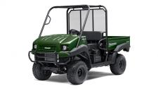 THE MULE 4010 4X4 SIDE X SIDE IS A POWERFUL MID-SIZE TWO-PASSENGER WORKHORSE THAT'S CAPABLE OF PUTTING IN A HARD DAY OF WORK AS WELL AS TOURING AROUND THE PROPERTY. 617cc fuel-injected, V-twin engine produces reliable performance Selectable 2WD or 4WD with dual-mode rear differential Continuously Variable Transmission (CVT) with HI/LO ranges, neutral and reverse Up to 1,200-lbs. towing capacity and 800-lbs. cargo bed capacity Electric Power Steering (EPS) provides all-day driving comfort Backed confidently by the industry-leading Kawasaki STRONG 3-Year Limited Warranty