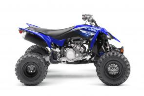 The YFZ450R boasts podium topping DNA and a serious race pedigree. Which begs the question: How big is your trophy case?  YFZ45YSXKL This item may not be available immediately in dealer stock. Some items may need to be ordered. See terms for details.