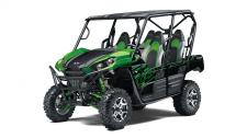 With the perfect combination of rugged sport performance and capability, these vehicles are made to conquer the outdoors with up to four passengers on-board.  KRT800GL