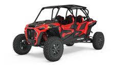 Dominate any off road landscape and fear no terrain.  RZR Turbos set the benchmark for off road supremacy.