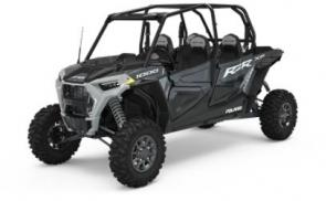 CROSS-TERRAIN PERFORMANCE NEVER LOOKED SO GOOD Put yourself firmly in control, even in the most unpredictable terrain, with the extreme performance of 110 HP, 20� of usable travel, 64� stance and the definitive grip of 29� tires. From the assertive shape outside and the refined cockpit within, RZR XP 4 1000 delivers performance you can see and feel.