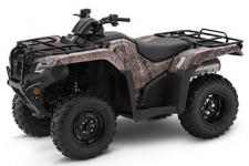 Innovation, performance, value, long-term reliability-the Honda Ranchers offer it all, and more. It's an ATV partner you can count on, for years and years to come.  248433