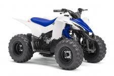 With electric start, automatic transmission and parental controls, the YFZ50 offers the ultimate sport ATV experience to riders 6‑years old and up.
