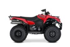 Whether you're working hard or getting away from it all, the 2019 Suzuki KingQuad 400ASi helps you every step of the way.