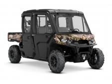 Inspired by those who drive it, the Defender MAX XT CAB is the most complete utility vehicle Can-Am has made. Tough, capable, and clever features allow the Defender MAX XT CAB to get the most out of any weather in comfort, style and ingenuity.