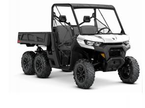 CAN-AM OFF-ROAD REVOLUTION. Six wheels, unlimited potential. Get the most traction, load-carrying, power, and capability ever engineered into an off-road workhorse.