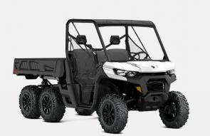 Schedule? To-do list? Office hours? The Defender just works. The day is done when you say it is, so get the most from a side-by-side made to handle any condition, any obstacle, and any rider—from experienced to novice. CAN-AM OFF-ROAD REVOLUTION. Six wheels, unlimited potential. Get the most traction, load-carrying, power, and capability ever engineered into an off-road workhorse.