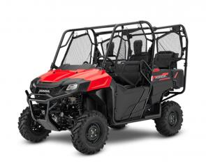 There are a lot of ways to judge a side-by-side: Bang for the buck. Power to weight. Overall build quality. And real-world usefulness. Honda�s Pioneer 700-4 side-by-sides just get it all so right on so many levels. They put versatility and capability at the top of their can-do list, and back it up with Honda engineering. And with Honda�s exclusive QuickFlip� seating, a Pioneer 700-4 can carry up to four people, total. When you�re not using the QuickFlip seats they fold flat, so you get maximum utility when it comes to hauling.  While you�re at it, check out our Pioneer 700 two-seat models as well�same great platform, but a little lighter and a little lower cost. Either way, you�ll have a hard-working utility vehicle that�s one of our best ever.  252618