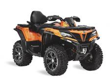 Each model in CFMOTO's full line of all terrain vehicles is engineered to give you the smoothest, hardest working ride. With a comfortable and ergonomic riding position, you will always have a commanding view of the terrain in front of you. Whether for sport or utility, our each machine in our ATV lineup will handle the biggest jobs and get your through the toughest terrain.