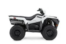 The KingQuad 500AXi Power Steering is not just a new ATV, it's a new KingQuad ATV. Suzuki, the inventor of the 4-wheel ATV, took the world's best sports-utility quad and made it better and more capable than ever.