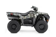 The KingQuad 500AXi Power Steering Camo is not just a new ATV, it's a new KingQuad ATV. Suzuki, the inventor of the 4-wheel ATV, took the world's best sports-utility quad and made it better and more capable than ever.