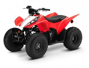 Designed from the start to be beginner friendly, it is just the right size for younger riders. More experienced riders can have fun too, thanks to its rugged single-overhead-cam engine that offers a usable powerband.  Important Safety Information: Recommended for riders 10 years of age and older. Honda recommends that all ATV riders take a training course and read their owner's manual thoroughly. TRX90X riders younger than 16 years of age must be supervised by an adult.