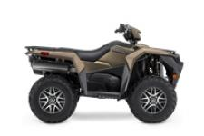 The KingQuad 500AXi Power Steering SE+ is not just a new ATV, it's a new KingQuad ATV. Suzuki, the inventor of the 4-wheel ATV, took the world's best sports-utility quad and made it better and more capable than ever.