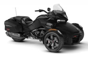 Go the extra mile with the Spyder F3-T. Enjoy the road with the new infotainment system, added comfort of a windshield along with a smooth and quiet ride. You can also take along your gear with integrated hard side luggage.