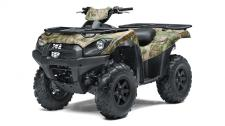 A TRUE OUTDOORSMAN NEEDS A BIG-BORE MACHINE WILLING TO TRACK DEEPER AND GO FURTHER. THE BRUTE FORCE 750 4X4i EPS CAMO ATV CAN TACKLE THE WILDERNESS AND ITS MOST DIFFICULT TERRAIN.