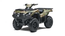 Brute Force 750 4x4i ATV offers high-level performance for your outdoor adventures.  KVF750HL