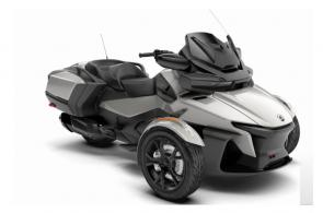 Get on the Spyder RT, hit the open road and don�t look back. With a long list of comfort and convenience features, you wont be able to resist the open road.