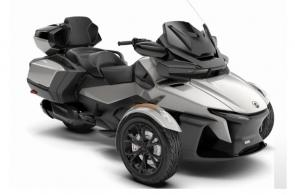 Experience unrivaled touring comfort in luxury that fits your style. The Spyder RT Limited features integrated, vehicle-optimized smartphone apps, a long-distance seat, and many more features designed for the ultimate adventure for two.