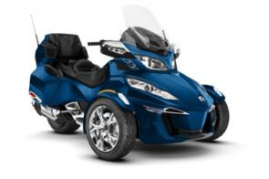 Experience unrivaled touring comfort in luxury that fits your style. The Spyder RT Limited features integrated, vehicle-optimized smartphone apps, a long-distance seat, and many more features designed for the ultimate adventure.