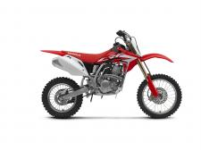 Plus, since the right-sized bike is critical, to fit a wider variety of riders, we also make the CRF150R available in a second version: the CRF150R Expert, featuring bigger wheels, a higher seat and longer swingarm.