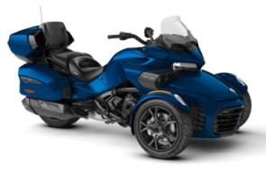 When its time for an extended cruise, the Spyder F3 Limited is the perfect choice. Enjoy the infotainment system, more comfort and additional cargo space for your long adventures.