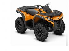 Take command of unmatched all-terrain performance with the new 2020 Outlander DPS ATV.