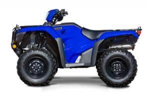 The Honda FourTrax Foreman is our flagship model when it comes to work. And when the workday's done, plenty of riders think it's perfect for having some fun, too. For 2020 we've made this great ATV even better.