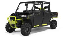 The performance of a RANGER CREW XP 1000 with added features to dominate the mud and room for 6.