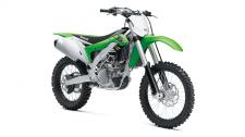 The KX450F motorcycle is the most powerful, lightweight, and agile KX450F ever. Developed from the highest levels of racing, this championship bike has advanced technology sourced straight from the world's premier race team—another reason why the KX450F is The Bike That Builds Champions.