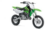 THE KX65 MOTORCYCLE IS A LIGHTWEIGHT,  DURABLE AND HIGH-PERFORMANCE CLOSED-COURSE MINICYCLE THAT OFFERS ALL THE RIGHT TOOLS FOR YOUTH MOTOCROSS RIDERS GETTING THEIR FIRST TASTE OF COMPETITIVE RIDING. High-performance liquid-cooled, 64cc 2-stroke engine A low 29.9-inch seat height Adjustable 33mm leading axle conventional fork provides great handling and 8.3 inches of wheel travel Adjustable Uni-Trak® rear suspension with 9.4 inches of wheel travel Front and rear disc brakes High tensile tubular steel semi-double cradle frame