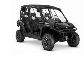 The fully-loaded 4-seater is here: command your path off-road with world-renowned versatility and best-in-class power.