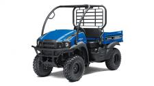 PACKED WITH VALUE AND UNDENIABLE CAPABILITY, THE MULE SX 4X4 XC SIDE X SIDE HAS A RUGGED APPEARANCE, AND HIGH LEVEL OF COMFORT AND VERSATILITY. TO TOP IT OFF, THIS DURABLE WORKHORSE IS COMPACT AND EASILY FITS IN THE BED OF A FULL-SIZE PICKUP TRUCK. 401cc air-cooled, 4-stroke; selectable 2WD/4WD Steel cargo bed with textured floor is durable and scratch resistant Up to 1,100-lbs. towing capacity and 400-lbs. cargo bed capacity KQR™ featuring quick release capabilities with cargo bed rails allow for easy installation of KQR cargo bed accessories Compact size and tight turning radius for easy maneuvering Adjustable tilt steering, premium thick grip steering wheel and padded bench seat for all day driving comfort Built to last and backed by the industry-leading Kawasaki STRONG 3-Year Limited Warranty