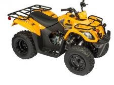 The perfect sized Y-12 model for the average height and weight of a young rider. This vehicle is equipped with the power demanded to easily traverse obstacles and maneuver through the roughness encountered on trails. (Available in Yellow and Green)