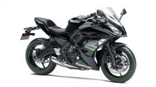 An upright riding position and smooth, responsive engine performance make the Ninja 650 ideal for everyday street riding, while its lightweight agility and invigorating mid-range power quickly remind you of its sportbike lineage.
