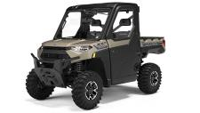 Great features of the RANGER XP 1000 with the factory installed RANGER Premium ProSheild Cab and heating and air conditioning system.