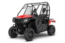The first secret of getting away from it all is to go where most people can't. That's where a Honda Pioneer side-by-side comes in. The second secret? To go where other side-by-sides can't. And that's where the Pioneer 500 truly rocks.  250558