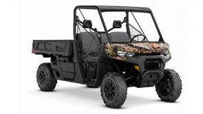 PERFECT PLATFORM. The world's best Can-Am with a 4.5 x 6 ft bed and the torque to haul like nothing else off-road. On the job, farm, ranch, hunting trip and leisure rides, Defender PRO was built to stretch what a side-by-side vehicle can do.