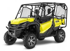 2018 HONDA PIONEER 1000-5 DELUXE ACTIVE YELLOW  All side-by-sides face the same challenges, but it's how they solve them that sets Honda's Pioneers apart. Smart technology. Superior materials. Refined engineering. And something nobody else can match: Honda's well-earned and world-famous reputation for reliability and overall quality. And the farther you go or the harder you work, the more that means. This year's Honda Pioneer 1000 lineup is a perfect example. These great side-by-sides got it right the first time in terms of comfort, handling, hauling, and user-friendly features. Available in both three- and five-seat versions, in addition to their innovative features, from our flagship Pioneer 1000-5 Limited Edition right through our line to the Pioneer 1000, you can count on a Honda, year after year, mile after mile, adventure after adventure. PIONEER 1000-5 DELUXE Adds: LED headlights, 14 aluminum wheels, available Honda Phantom Camo®  247186