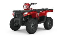 Your ATV should work as hard as you do and now it can with the tougher exterior that youve been waiting for. Get more done with infinite tie-down versatility with front and rear metal racks. Have more confidence through the fields and brush with a front utility bumper.
