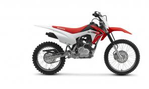 Here's a dilemma many riders—and parents—face: You want a bike that fits right, but one that also has the right features. It's especially challenging with smaller dirtbikes, because often times low seat height equals fewer features. Not with Honda, and especially not with the CRF125F Big Wheel.